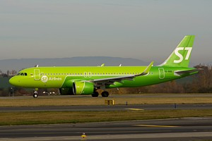 S7 - Siberia Airlines Airbus A320 VQ-BRB
